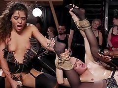 Babe, BDSM, Big Tits, Bizarre, Black, Bondage, Cute, Fetish, Gagging, Group Sex,