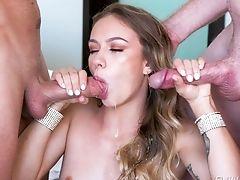 Adorable, Big Cock, Blowjob, Bukkake, Cumshot, Deepthroat, Dick, Face Fucking, Facial, Felching,