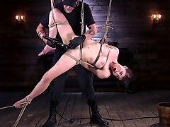 Abuse, BDSM, Big Tits, Bondage, Brunette, Fetish, Pussy, Slut, Torture,