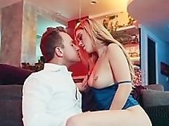 Babe, Blonde, Blowjob, Boobless, Coach, Doggystyle, Facial, HD, High Heels, Moaning,