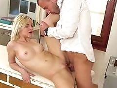 Big Tits, Blonde, Blowjob, Close Up, Doctor, Fingering, From Behind, Gyno, Hardcore, HD,