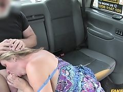 Amateur, Ball Licking, Big Tits, Blonde, Blowjob, Car, Cum In Mouth, Fake Tits, Handjob, Hardcore,