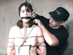 BDSM, Bondage, Bound, Dungeon, Gagging, Nipples, Sex Toys, Torture, Vibrator,