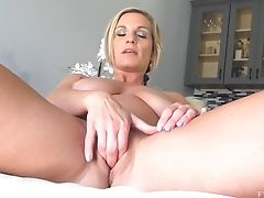 Amateur, Blonde, Bra, Fingering, Masturbation, Mature, MILF, Model, Panties, Pussy,