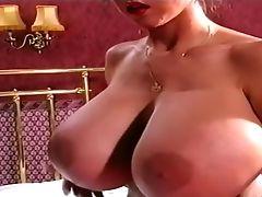 Big Tits, Brunette, Casey James, Classic, Retro, Solo, Vintage,