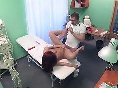Amateur, Babe, Dildo, Doctor, European, Horny, Hospital, Kinky, Natural Tits, Pussy,
