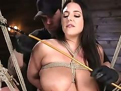 Amazing, Angela White, BDSM, Big Tits, Bold, Bondage, Brunette, MILF, Nipples, Sex Toys,