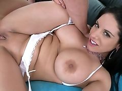 Anal Sex, Ass, Bella Reese, Big Cock, Big Tits, Brunette, Cute, Dick, Fat, From Behind,