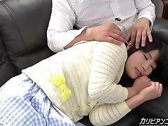 Gata, Close, Penetração Dedos, Japonêsas , Joven,