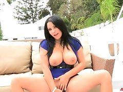 Ass, Big Tits, Boots, MILF, Outdoor, Pornstar, Pussy, Sexy, Sophia Lomeli, Striptease,